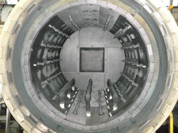 Camera calda dopo della manutenzione SIMPEV - Forni industriali